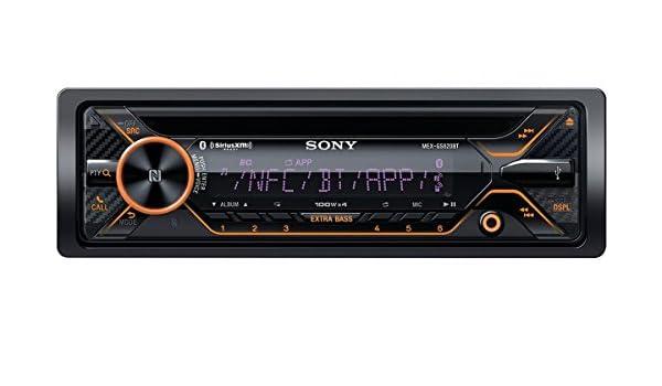 Sony MEXGS820BT Bluetooth Negro receptor multimedia para coche - Radio para coche (FM,LW,MW, LCD, Negro, 100 W, 178 x 178 x 50 mm, 1,3 kg): Amazon.es: ...