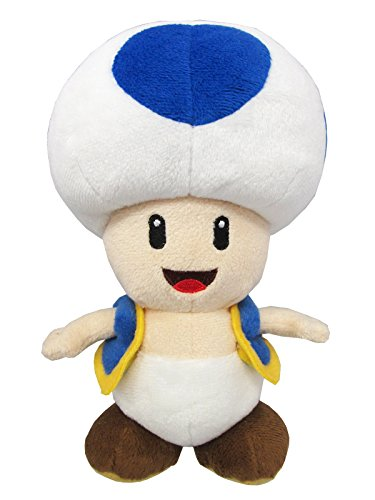 Sanei Super Mario All Star Collection AC31 Blue Toad 8