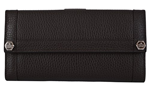 Gucci Wallets Continental Wallet (Gucci Women's Brown Textured Leather Continental Wallet W/Coin Pocket)