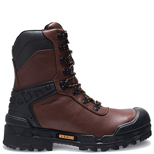 """Price comparison product image Wolverine Warrior CarbonMax 8"""" Boot Men 10.5 Brown"""
