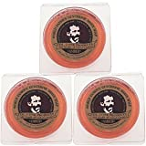 Col. Conk Amber Shave Soap 2.25 Ounce (Pack of 3)