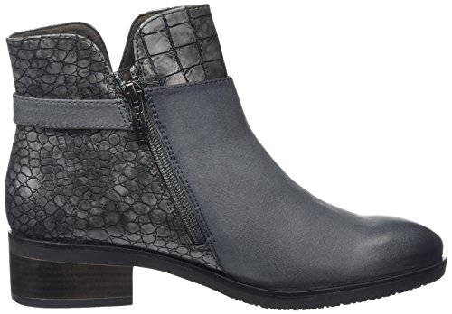 5 Com Pour De 25345 234 anthracite Uk Marron Bottines Gris Tamaris Femmes vqYtTBw
