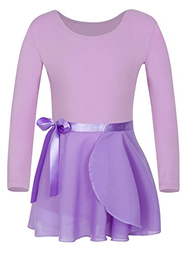 eeve Dress Athletic Dance Leotard (8-10, Purple) ()