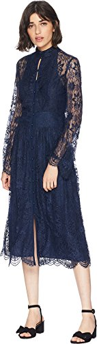Juicy Couture Women's Kendall Lace Midi Dress Regal 4
