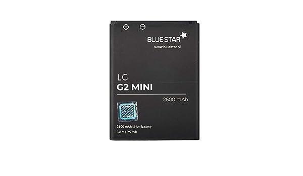Blue Star Premium - Batería de Li-Ion litio 2600 mAh de Capacidad Carga Rapida 2.0 Compatible con el LG G2 Mini D620 D620R D618 y G2 Mini Dual: Amazon.es: ...