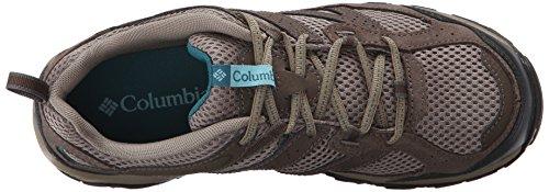 Columbia Womens Plains Ridge Wmns Trail Shoe Pebble/Aqua SntEryp9a