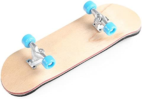 BISOZER Mini Finger Skateboard Wooden Finger Board Ultimate Sport Training