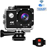 KppeX 4K WiFi Sports Action Camera, Ultra HD DV...