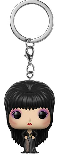 Funko Pop Keychain: Horror - Elvira Collectible Figure, Multicolor -