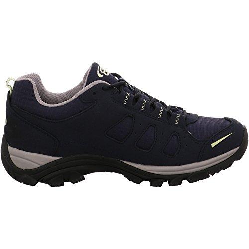 Brütting 211171, Stivali da escursionismo donna blu Blau