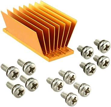 Pack of 1 1//8 BRICK HEATSINK 58X23X22.9MM ATS-1181-C1-R0