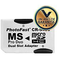 Adaptador Ms Pro Duo - Micro Sd Doble Slot para PSP Sony
