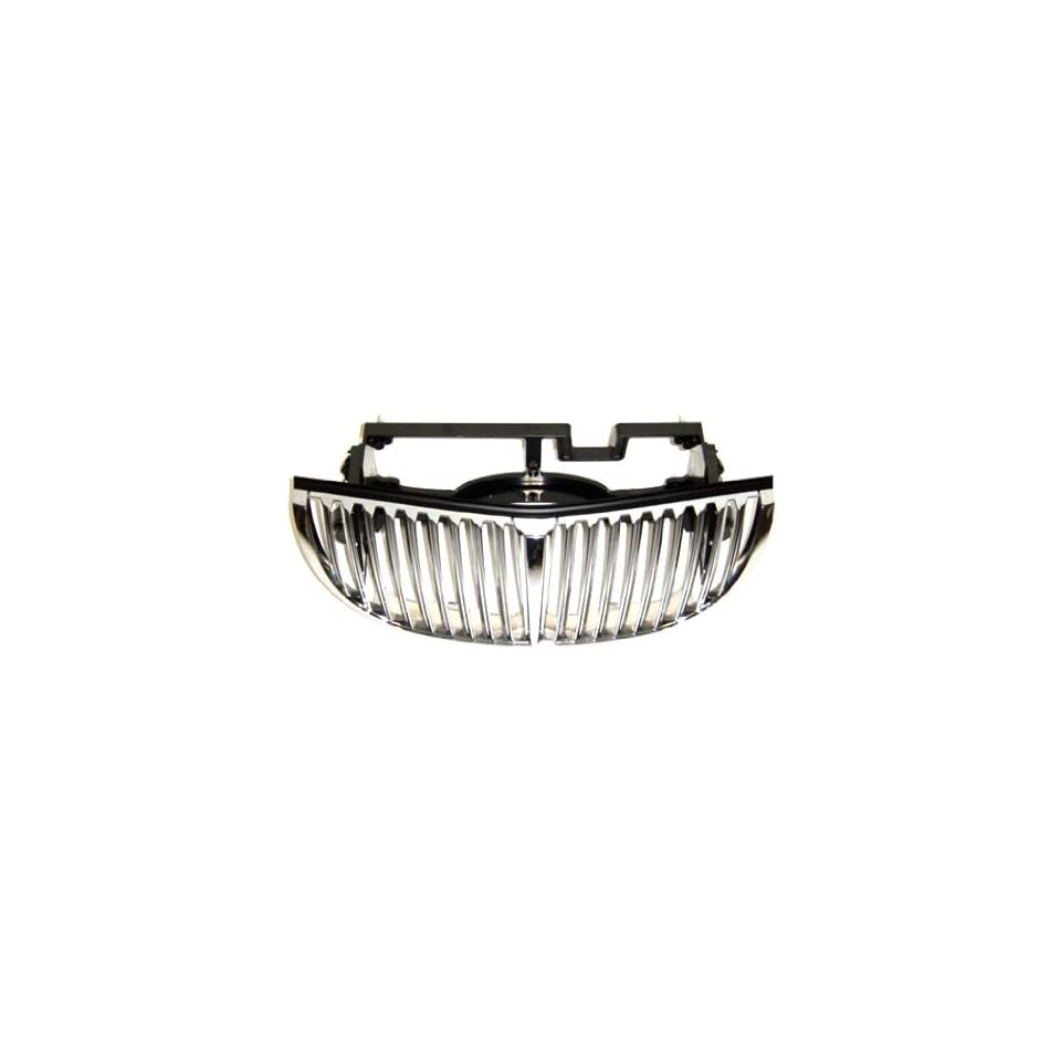 OE Replacement Lincoln Town Car Grille Assembly (Partslink Number FO1200349)