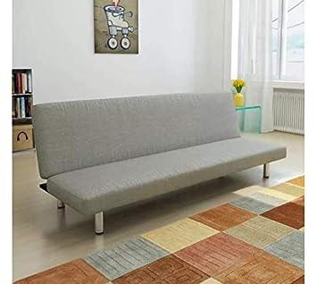 Amazon.com: Sofa Bed Fabric Dark Gray Space Comfortable ...