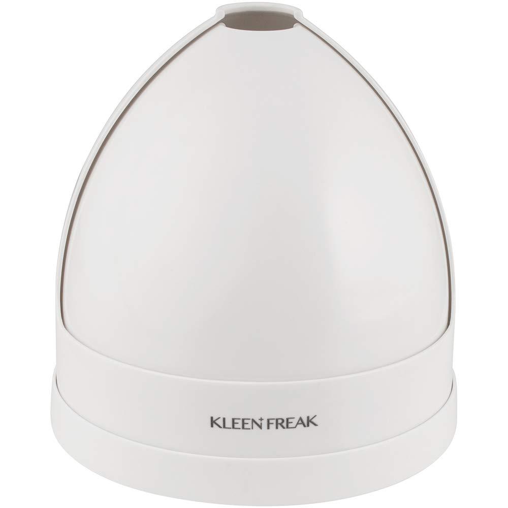 Kleen Freak 3019900 Antibacterial GERM GUARD Toilet Plunger Holder Twister Caddy, Universal, White