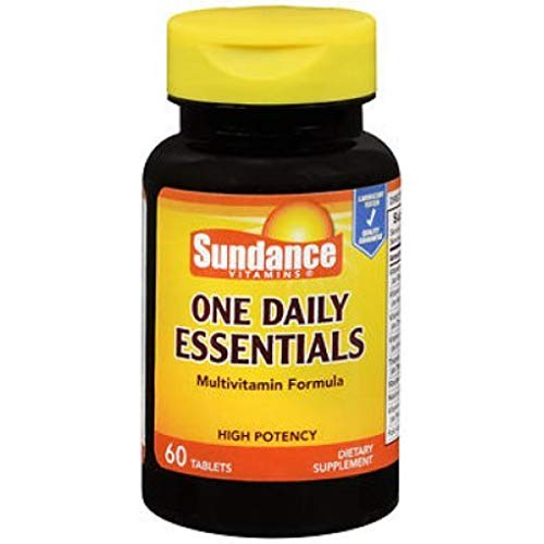 Sundance One Daily Essentials Multivitamin Formula Dietary Supplement, 60 Tablets (1)