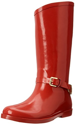 ds Ollivia Riding Rain Boot,Red,6 M US Big Kid ()