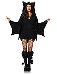 womens cozy bat costume
