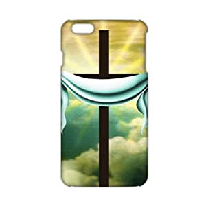 Evil-Store Pure white cloth and cross 3D Phone Case for iPhone 6 plus