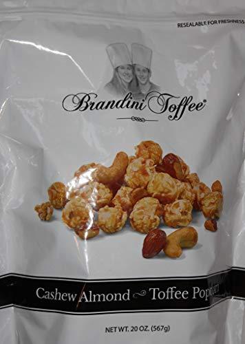 Brandini Cashew Almond Toffee Popcorn - 20 oz - Gluten Free