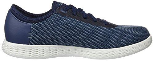 Glide Go Navy Effusive Skechers Sneaker Herren on The Blau 4qIt8