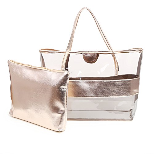 Top champagne Bag Zicac Women's Handle ZxP1FwOq