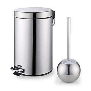 Amazon.com: Cook N Home - Juego de escobilla de acero ...