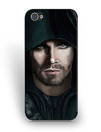 (Cover iPhone 5/5S) Cases For Women Men,Cute Design Cover iPhone 5/5S Case Green Arrow Dc Comics Collection Anti-Scratches Hard Cute /Lovely / Adorable S9U7Cp