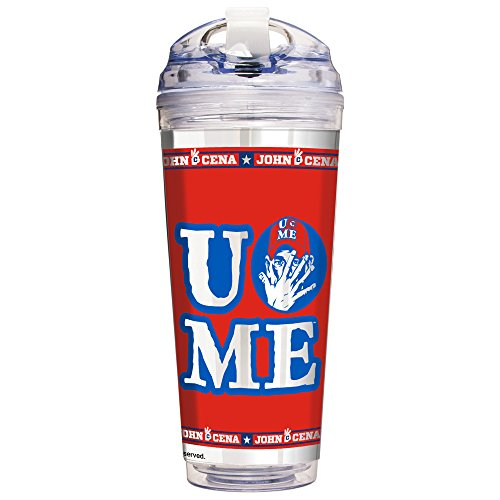 WWE John Cena - UCME 24oz Double Wall Acrylic Tumbler with Straw