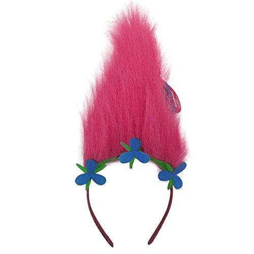 - Trolls Girls Dress Up Poppy Hair with Glitter Headband