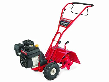 Beau Troy Bilt Bronco 208cc Powermore Counter Rotating Gas Powered Rear Tine  Tiller