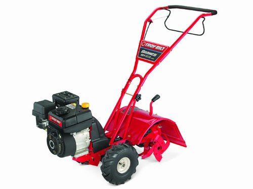 Troy-Bilt Bronco 208cc Powermore Counter Rotating Gas Powered Rear Tine Tiller by Troy-Bilt