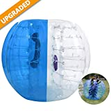 Hurbo Inflatable Bumper Ball Bubble Soccer Ball Dia 4 ft /5 ft (1.2/1.5 m) Giant Human Hamster Ball for Adults and Kids