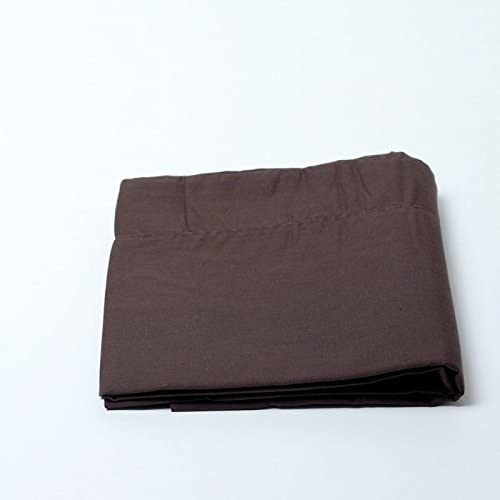 100/% Coton 57 Fils//cm/² MATIN CALIN Taie doreiller 50 x 70 cm Choco