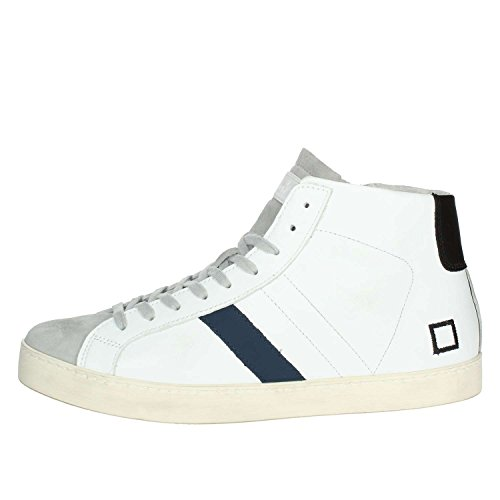 D.A.T.E. Hill High Nappa Blue white buy cheap for sale xMlMS4