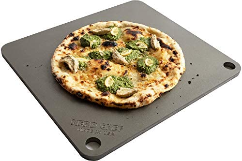 NerdChef Steel Stone – High-Performance Baking Surface for Pizza .50 Thick – Ultimate