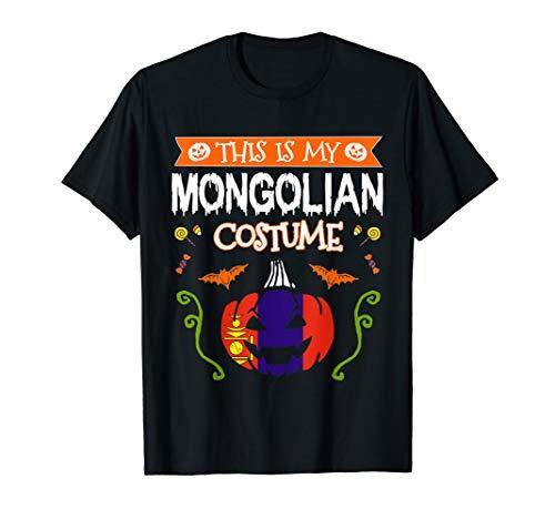 This Is My Mongolian Costume Halloween Mongolia