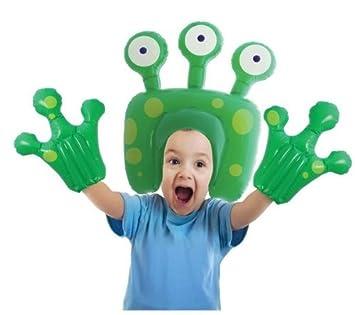 AIRHEDZ Kids Airhedz - Kit hinchable extraterrestre - talla ...