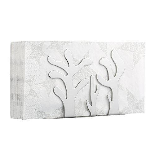 - Ecooe Decorative Stainless Steel Napkin Holder for 10-inch or Smaller Napkins (Cactus)