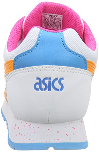 ASICS - Curreo, Zapatillas unisex adulto Blanco (white/pop Orange 0130)