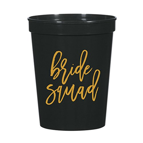 Bride Squad Bachelorette Party Plastic Stadium Cups