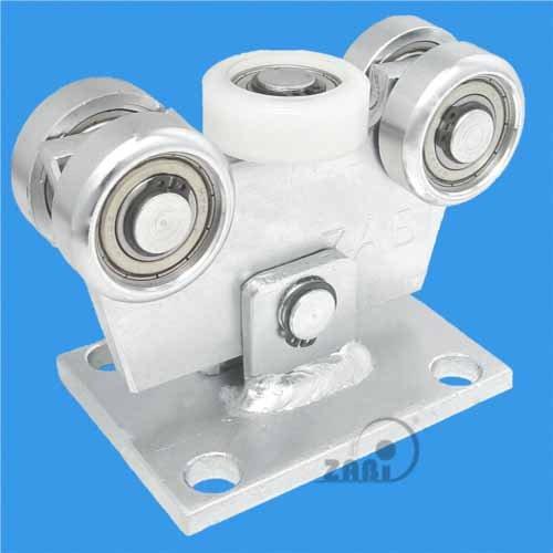 ZAB-S Laufwagen (Code:W-5M-50) Laufrolle Profilmaße:50x50x3 Gartentor Schiebetor Rolltor (W-5M-50)