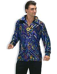 Men's 70's Disco Dynamite Dude Costume Shirt