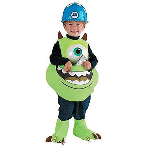 [Mike Candy Catcher Costume - Toddler Large] (Sully Monsters Inc Costume Toddler)