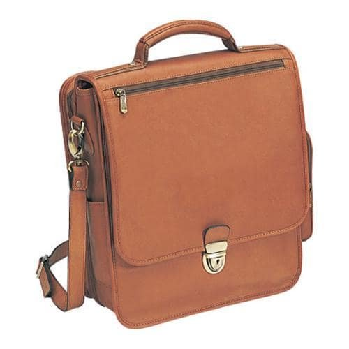 Bellino The Reporter Leather Vertical Case - Tan by Bellino