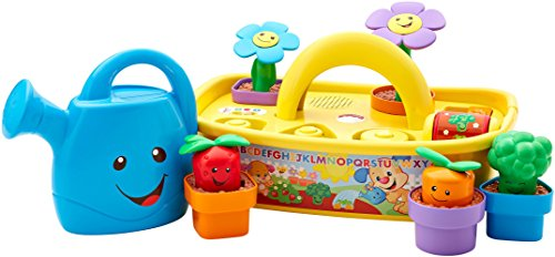 41OlBIb VVL - Fisher-Price Laugh & Learn Smart Stages Grow 'n Learn Garden Caddy (Amazon Exclusive)