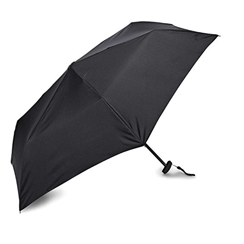 Samsonite Manual Flat Compact Umbrella Black