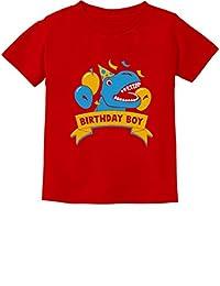 Gift for Birthday Boy Dinosaur Raptor T-Rex Boy Toddler/Infant Kids T-Shirt
