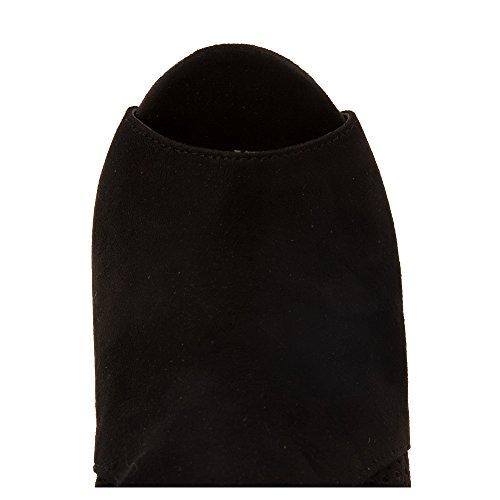 CALL IT SPRING Womens Hirtzel Pumps Shoes Black Nubuck tUGZH7YblQ