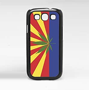 Arizona State Flag Weed Canabis Hard Snap on Cell Phone Case Cover Samsung Galaxy I9300 (s3)